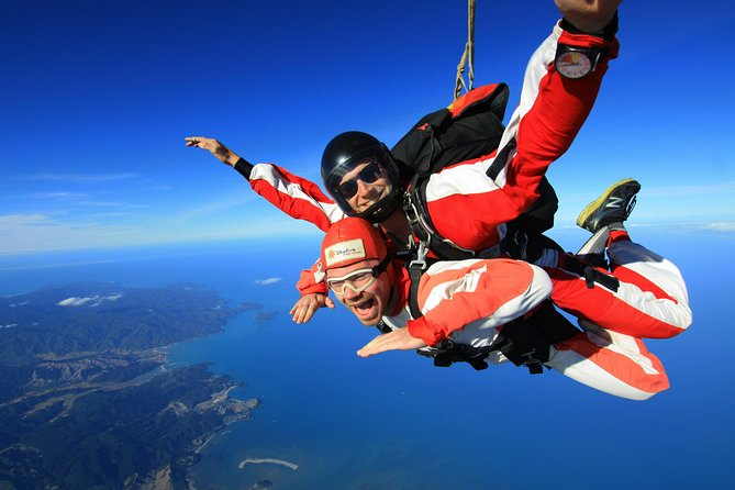 16,500ft Skydive over Abel Tasman with NZ's Most Epic Scenery, Motueka, NUEVA ZELANDIA