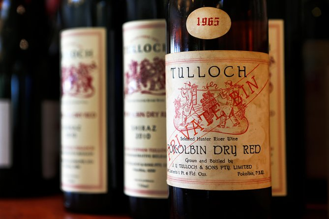 Tulloch Wines- Premium Museum Aged Wine Tasting with Cheese and Charcuterie, Hunter Valley, AUSTRALIA