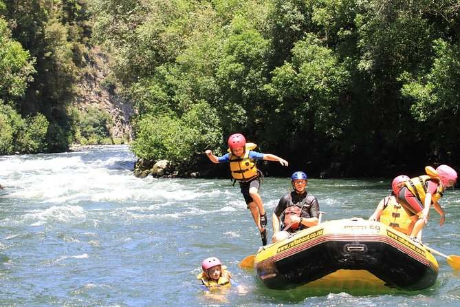 Enjoy Rangitaiki River and it's spectacular scenery on this grade 2 white water rafting tour. Laid back fun, this river has spectacular scenery, including cascading waterfalls tumbling into the river, beautiful forest views and sheer rock gorges clad in native bush. The gentle rolling rapids make this a great trip for families and for those looking for a more relaxed experience.