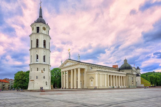 Take a trip from Vilnius to Riga and on the way learn about the history and people of two countries. Our knowledgeable local guides take a small group, maximum of 8 people, for a fun filled 12 hour road trip through Lithuania and Latvia.<br><br>Get a glimpse of Lithuanian life outside of Vilnius. You'll visit Kaunas, the second biggest city in Lithuania, with beautiful churches and picturesque Old Town. We'll discover the Hill of Crosses that is a famous pilgrimage destination and a site of resistance against Soviet occupation.<br><br>After crossing the Latvian border you'll be amazed by the Rundāle Palace that is considered the grandest stately home in the Baltics and a true gem of Baroque architecture and of South-Latvian countryside. Before reaching Riga we'll visit the monumental Salaspils Memorial Ensemble to victims of Fascism to learn about the II World War in the Baltic countries.