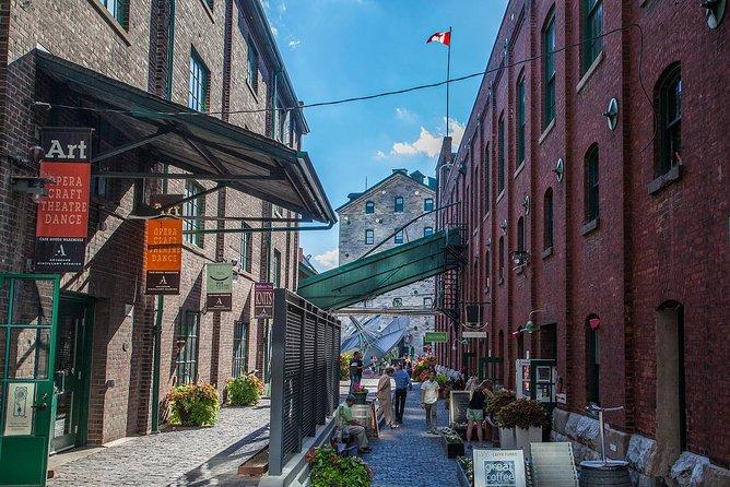 Corktown and Distillery Historic District Food Tour, Toronto, CANADA