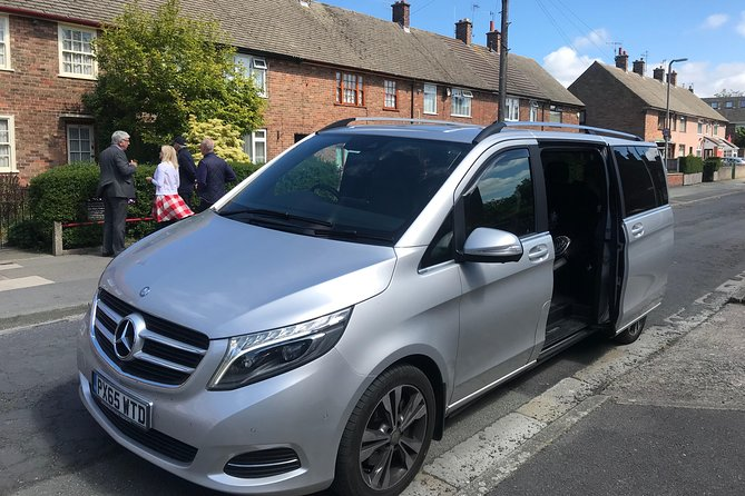 This luxury tour is brilliant for a group of friends, a corporate group or as a shore excursion for anyone who loves The Beatles and was inspired by the Carpool karaoke programme in 2018 shown on the James Corden programme the Late Show. Sing along as you are guided in luxury transport for up to 6 guests with hand held microphones as you sing along Karaoke style with your guide. Enjoy strawberrys at Strawberry Fields, see Paul's former schools, outside his childhood home and you'll receive a souvenir key ring along Penny Lane where he signed the famous road sign. This is a top end luxury product, in a fully licensed vehicle with a qualified fun tour guide and Beatles expert. There are other Beatles tours but there's no other Carpool Karaoke tour and this is easily the most fun and your guide will suggest lots of other Beatles themed things you can do during your visit to Liverpool.