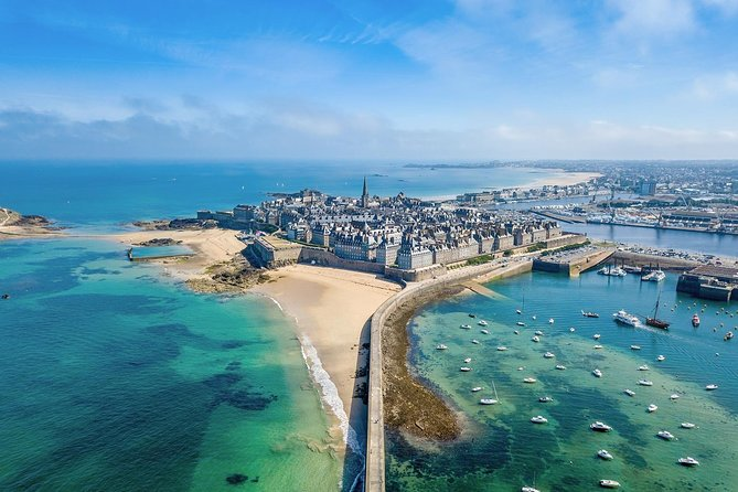 Day Trip with a local driver Mont Saint-Michel & Saint-Malo from Rennes 8h, ,