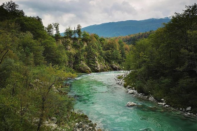 See captivating colour of Soca river, try a bit of Triglav National Park and see nature created sights along the way on a daytrip around North West Slovenia.<br><br>NOTE:<br><br>We have panoramic and other stops all along the way in context of comfortable traveling.