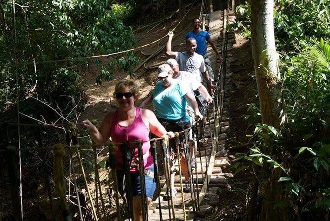 MORE PHOTOS, 3 Combo Excursion Zip line, suspension bridge and beach