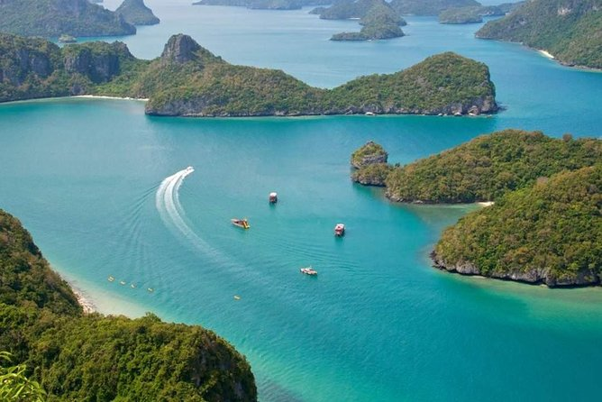 Ko Samui Angthong Marine Park Full Day Tour with Snorkeling & Sea Kayaking, Koh Samui, Thailand