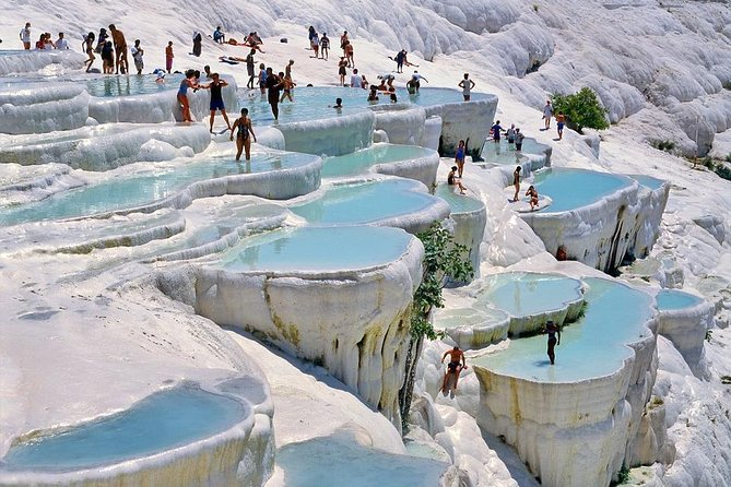 Ephesus Pamukkale Travertines House of Virgin Mary Cultural Tour ANCIENT AEGEAN, Izmir, TURQUIA