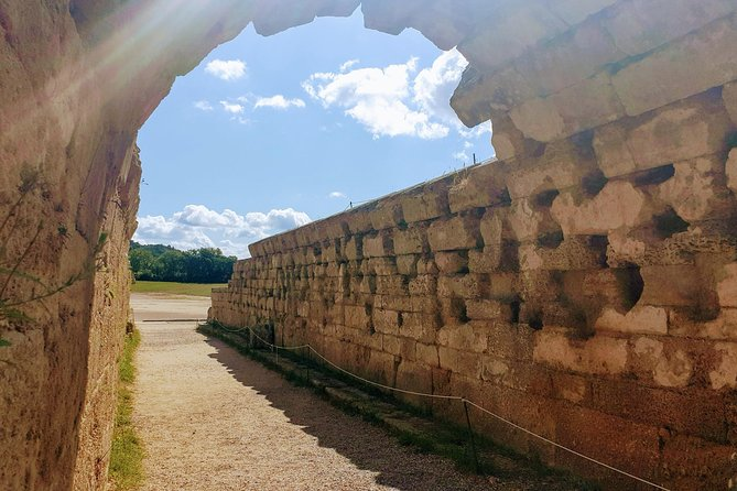 This small group half-day tour from the port of Katakolon will take you to Ancient Olympia, the playground of the Gods and heroes of Greek mythology and where the Olympic flame is lit for each Olympiad.<br><br>Go off-the-beaten-path into a farm filled with fruit trees and vegetables and find Greek hospitality. <br><br>This blessed land is home to one of the finest agricultural produce in the country. Discover the products of the olive tree, the symbol of immortality and wisdom on a free olive oil and wine tasting experience. <br>