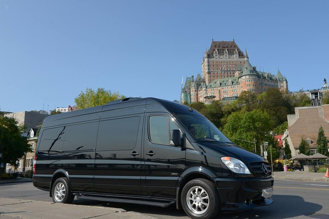 Private arrival transfer from Quebec City airport (YQB) to downtown, Quebec, CANADA