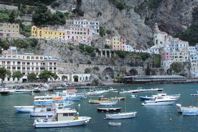 Amalfi Coast Day Tour from Naples, Amalfi, ITALIA
