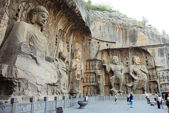 Private Tour to Longmen Grottoes with Peony Blossom from Jinan by Bullet Train, Jinan, CHINA