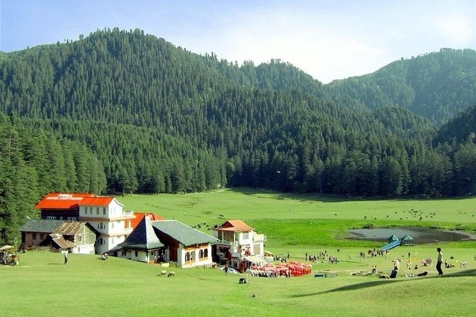 See the sights of nature and village on a private tour by air-conditioned car at Dharamshala Benefit from the services of an English-speaking expert and visit the must-see sight in Dharamshala.<br><br>Highlights:<br>- Soak up the atmosphere on a walking tour<br>- Choice of morning or afternoon departure<br>- Enjoy fantastic aerial views<br>- Parking And Tax Charge include