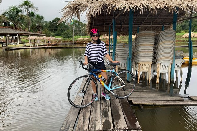 Cycling in the middle of Amazonia, Manaus, BRASIL