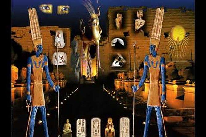 Espectáculo de luz y sonido en Karnak con transporte privado, Luxor, EGIPTO