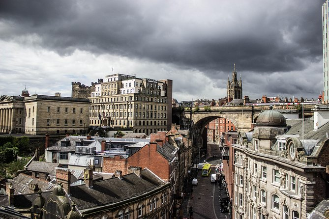 This is one 90-minute walking tour you'll never forget. Hear tales of Newcastle's ghosts, criminals and gangsters as you walk along Dean Street, Quayside and High Bridge Street. See sights including Earl Grey's Monument, Castle Keep and Bigg Market, while learning the mysterious stories that surround them. <br><br>Please note: this is not a ghost tour. There will be no paranormal activity on this tour.<br><br>What 3 Words starting location: ///rotate.angel.monks