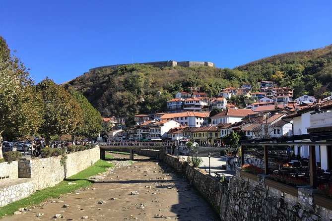 The old architecture of the city of Prizren, the castle at the top, the river that cuts through the middle, the old fountain square, the mosques, churches and Ottoman style public bath building are some of what make this city the pearl of Kosovo. This full day quality tour of Prizren will be an unforgettable experience for the visitors.