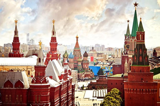 Moscow Kremlin and Red Square tour (Armoury optional), Moscovo, RÚSSIA