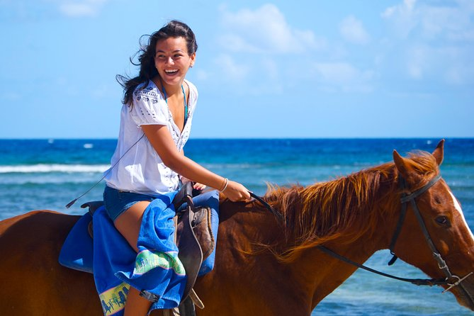 Braco Stables Horseback Ride and Swim Adventure from Montego Bay, Montego Bay, JAMAICA