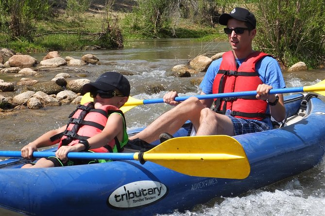 Inflatable Kayak Adventure from Camp Verde, Flagstaff, AZ, ESTADOS UNIDOS