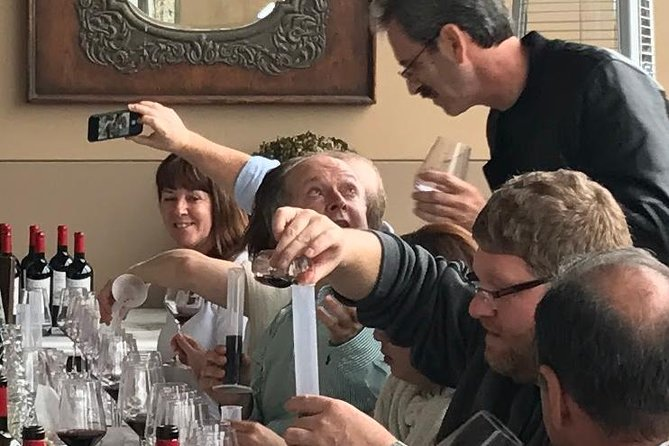 Hands-on Wine Tasting Experience with Wine Spectator Top 10 Winemaker.<br><br>Learn about wine from the third American to complete Bordeaux's Diplome National d'Oenologue (Master in Viticulture & Enology).<br><br>Get a perspective on our local wine region from the person who put Justin on the map.