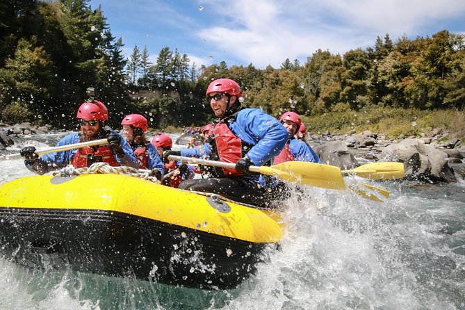 Rated by the Lonely Planet as 1 of 10 unmissable Aquatic New Zealand adventures in 2015 (The only rafting trip in the list). This half-day Tongariro River journey is truly a fantastic rafting adventure. The rapids are Grade Three, which makes this an ideal adventure for expert and first-time rafters alike. In 2.5 hours you navigate over 60 roller coaster rapids with an expert guide at the helm. A large part the top section of this trip can only be accessed by raft or kayak so you'll see plenty of spectacular unspoiled wilderness.