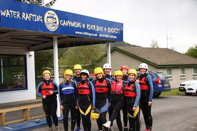 White Water Rafting on the River Tay and Canyoning from Aberfeldy, Aberfeldy, Escócia