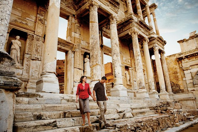 # Easy pick up from Kusadasi cruise port with a tour assistant.<br><br># Professional guide who knows best of Ephesus.<br><br># Skip-the-line express ticket of Ephesus is included.<br><br># Safe and comfortable journey with a luxury minivan.<br><br># Satisfaction & Money back guarantee.