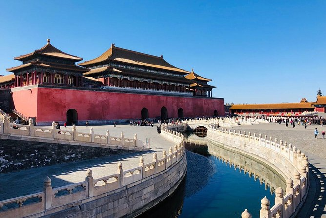 Explore the Forbidden City's top attractions on this guided excursion. After a convenient pickup from Tianjin International Cruise Port, catch a bullet train and learn about Beijing from your informative local guide. Choose from a variety of tour options and visit landmarks like Temple of Heaven, Tian'anmen Square, the Palace Museum, and Summer Palace. Explore the popular sites of China's capital city on an all-day adventure Discover the Forbidden City's royal history with a knowledgeable guide Visit sites like the imperial palace, Tiananmen Square, and Summer Palace Make the most of limited time with convenient port pickup and drop-off