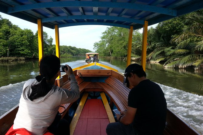 "On this ""relaxing"" leisure boat ride, you will able to see the nostalgic Malay Water Village. We will be making a few stops under the natural mangrove trees and swamp. Look out for the birds and animal wildlife especially the rare and endangered proboscis monkeys that are only found in Borneo.<br><br>Optional Tours -<br>1. Kampong Ayer Heritage Tour<br>(S$79pp/2.5Hrs)<br>2. Mangrove & Kampong Ayer Tour<br>(S$89pp/2-3Hrs)<br>3. Mangrove & Bandar by Night Tour<br>(S$129pp/4Hrs)<br>4. Bandar Highlight Tour<br>(S$69pp/3Hrs)<br>5. Bandar Highlight & Kampong Ayer Tour<br>(S$79pp/4Hrs)<br>6. Museum Highlight Tour<br>(S$79pp/4Hrs)<br>7. Brunei Heritage Tour<br>(S$119/6-7Hrs inc Lunch)<br>8. Brunei Splendour Tour<br>(S$139pp/6-7Hrs inc Lunch)<br>9. Bandar by Night<br>(S$79pp/2-3Hrs)<br><br>"