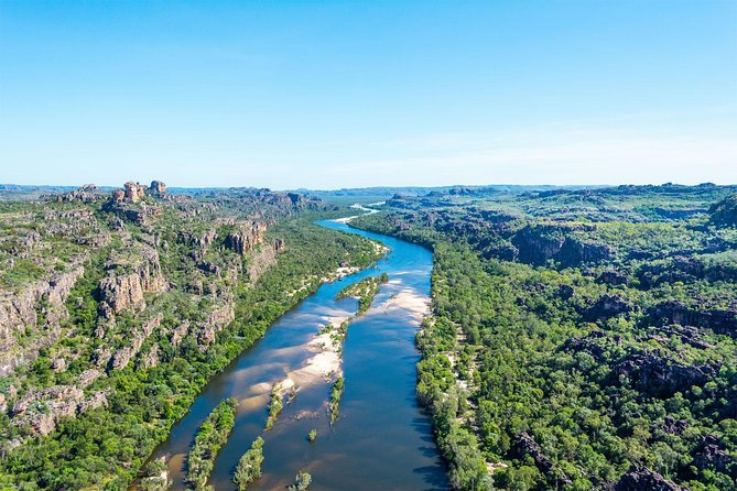 Best seen from the air, enjoy aerial views over the World Heritage Listed Kakadu National park on a 60 minute scenic flight departing from Jabiru. <br><br>Kakadu is a region of changing landscapes, impressive land forms, dynamic ecosystems and rugged wilderness. To gain a real appreciation and see untouched lands, a scenic flight is a must.  <br><br>You will enjoy  unique views as you explore Australia's largest National Park. <br><br>This flight includes recorded and live commentary from your pilot as you fly through these spectacular ancient lands.