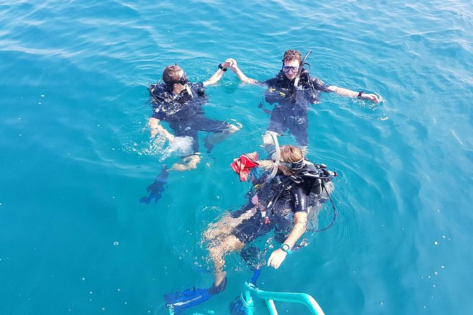 Phu Quoc has some of the best diving in all of Vietnam, come discover it with us! Dive into the deep blue to discover the island's vibrant reef and marine-life on this full day trip that includes Scuba Diving in the south of the island, chillaxing onboard a boat and dining on traditional Vietnamese food.