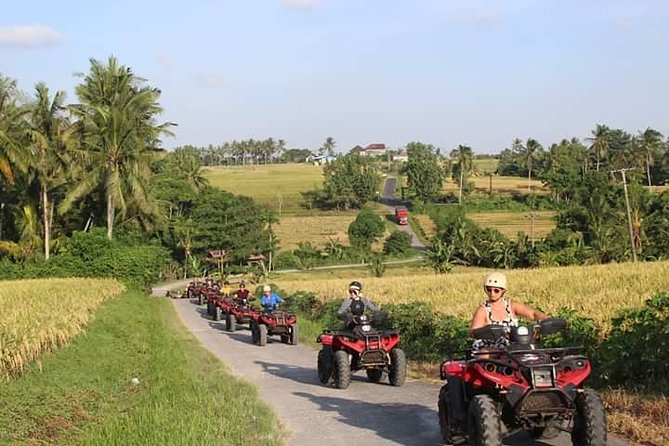 Experience the sensation of ridding ATV along black sand through the Klecung Beach by crossing fresh water sreams and viewing the spectacular coastline. Ridding a long the peaceful village which has a beutiful panorama with the emerland green rice field along way. Our programs are suitable for both experienced and inexperienced riders from age 7 until 65 years old.