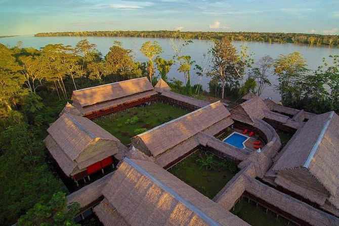Visit the spectacular Amazon Jungle on this 3-day adventure from Iquitos! Cruise along the Amazon River both during the day and at night and see native animals from the water, including monkeys and exotic birds. Hike through the jungle, visit a sugarcane distillery, and be amazed at the impressive jungle landscape. With all your meals included plus two nights' accommodation at the Heliconia Lodge with round-trip airport transportation, this once-in-a-lifetime experience is one you won't want to miss!