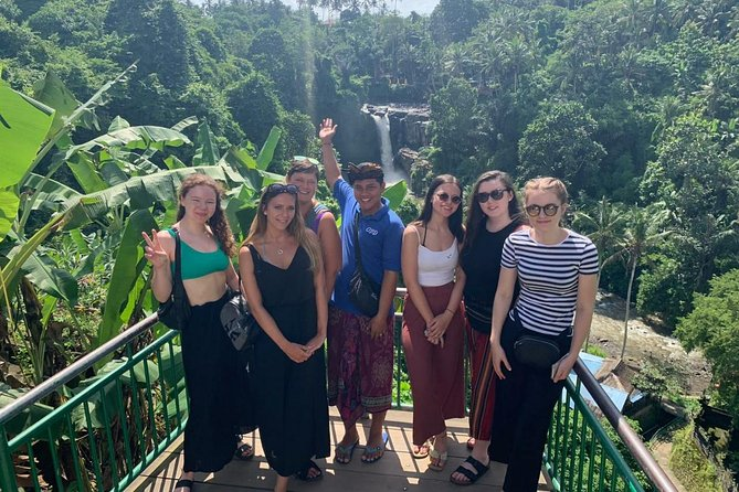 This is a private tour to see interesting places in ubud and around the area.Enjoy a day trip to visit places such us: Batuan temple. it is a village temple was built in isaka 944. very beautiful temple with Bali sculpture as the style of the temple.Thenexperience swimming andgreen scenery of tegenungan water fall. After that lets explore Bali long tailed monkey at monkey forest in ubud where over than 600 monkeys live in that forest. Lunch will be served at one of local restaurant with a nice view. Enjoy our set menu lunch for your refreshment before we continue to visit scenic view of rice terrace and capture your best picture walking thru the rice terrace. Then our last stop will be ubud market and palace. Experience the atmosphere of market with local people and have short visit to ubud palace where the King used to live before we go back to your hotel.
