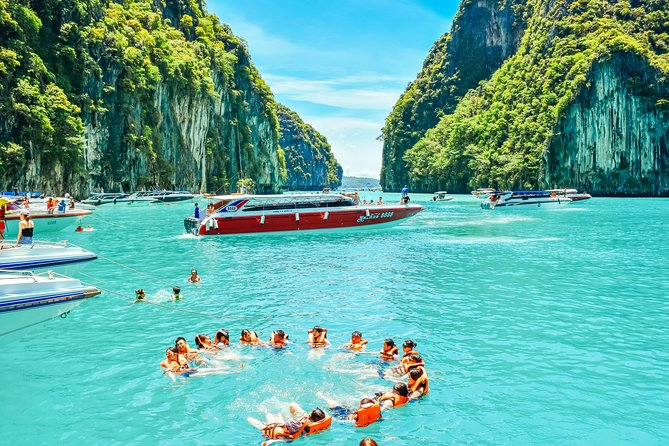 "During the two-day 12 Islands Overnight Tour, you will visit the two most beautiful national parks in Thailand:<br>• Visit the James Bond Island<br>• You will visit the most famous archipelago of Krabi province - Phi Phi Islands<br>• You will see with your own eyes the island on which the film ""Beach"" was created.<br>• Visit the sea gypsy village - Koh Panye<br>• Enjoy canoeing through the amazing caves of the islands of Phang Bay National Park<br>• Enjoy snorkeling in the crystal clear waters of the Phi Phi Islands.<br>• Relax on Bamboo Island, famous for its white coral sand and azure water.<br>• Enjoy the evening program with a fire show and Thai boxing<br>• Take part in an open-air disco on Phi Phi Islands largest beach dance floor<br>• Learn more about Thai culture, Buddhism and the traditions of local people<br><br>This 12 Islands Overnight Tour is for those who want to see everything at once, best tour ever!"