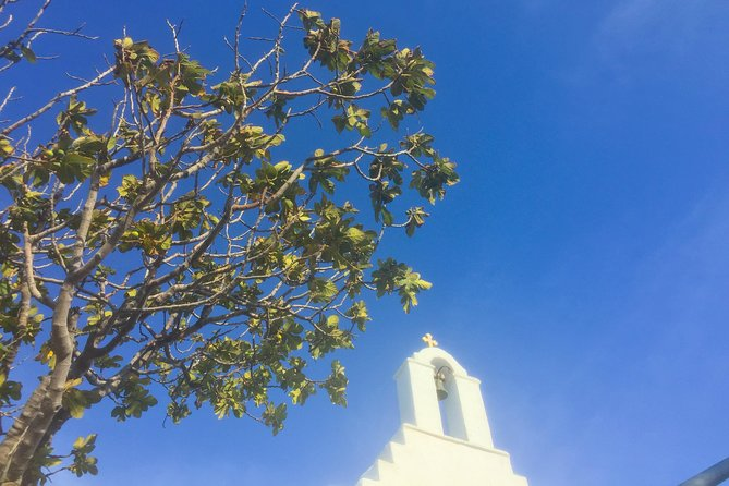 This is a walking tour of the village of Lefkes, Paros. <br><br>Optionally, we will take you to see a small church on the highest point of the village of Lefkes where we will take some beautiful photos of the view towards the island of Naxos. This is an incredible spiritual place that has had me awed ever since I have first visited. Before/ or after the tour we will stop at the best bakery of the village to taste some local delicious pies. Please note the walk is a bit steep you will need to be n a good shape to do it. I recommend wearing comfortable walking shoes.