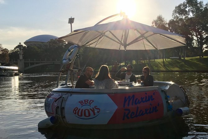 Imagine it's a sunny day and you + favorite crew are having wonderful time on a donut-shaped self drive boat. You skipper along the picturesque Riverbank of the Torrens while enjoying an aussie barbecue or one of our amazing cheese and meat grazers combined with a local glass of wine! Maxin' Relaxin'