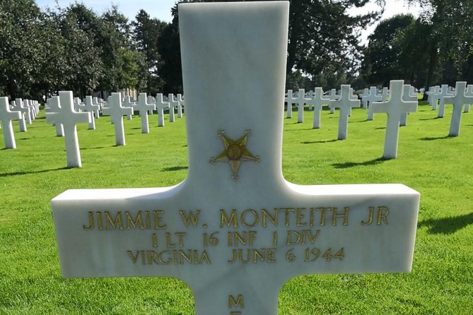 Omaha Beach, American Cemetery - Private Tour - Day trip from Paris, small group, Bayeux, FRANCIA