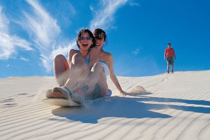 An exciting day out exploring the iconic Sorrento Quay Hillarys Boat Harbour, the Lancelin Sand Dunes and the Mystical Pinnacle Desert.