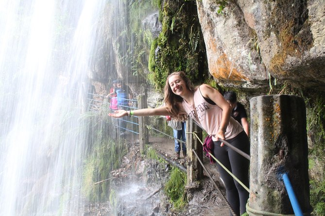 Hike to the highest colombian fall (la chorrera and chiflon), Bogota, COLOMBIA