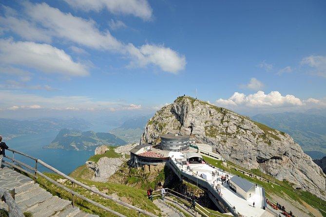 Viagem diurna no verão até o Monte Pilatus saindo de Lucerna, Lucerna, Suíça