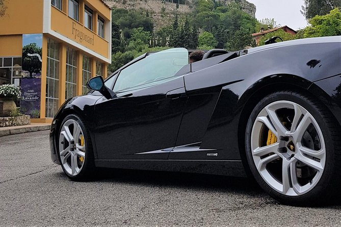 Enjoy an exhilarating drive behind the wheel of a Lamborghini Gallardo 560 LP Spyder on the French Riviera. Marvel at the thunderous roar of the perfectly tuned V10 engine of this legendary car.<br><br>Cruise on the panoramic roads above and around Monaco. Depending on whether you opt for the 30 minutes or 60 minute drive. Choose to drive yourself or be driven on this tour that's available throughout the year.<br><br>From Monaco, in a car that turns heads with it's unrivaled beauty, head out of the principality along some of the streets of the famous F1 Grand Prix circuit, depending on traffic. After a short drive, find yourself driving on the beautiful panoramic roads of the French Riviera above Monaco. Some of which have been used frequently in the movies.<br><br>If you'd like, you can purchase a video or a certificate of your Lamborghini experience to take home as a souvenir of your tour. The video has to be arranged before the start of the tour.