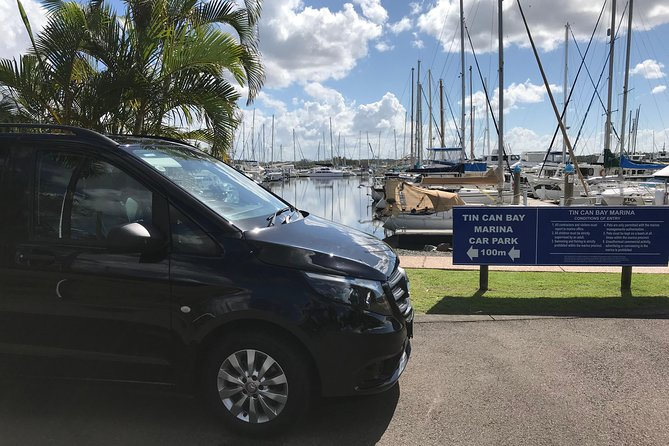 Private Transfer from Sunshine Coast Airport to Noosa 8 seater + Luggage Trailer, Noosa y Sunshine Coast, AUSTRALIA
