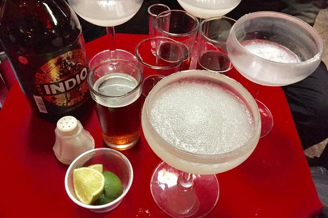 Come to Tijuana and margarita sample with us! You'll love the diversity of our stops and also get to enjoy some of the best carne asada tacos in town with handmade tortillas. Our margaritas come blended or on the rocks to suit your thirsty preference. Salud!<br><br>reminder: The cost only includes 2 tacos, please make sure to bring about $20usd to be converted into pesos.<br>