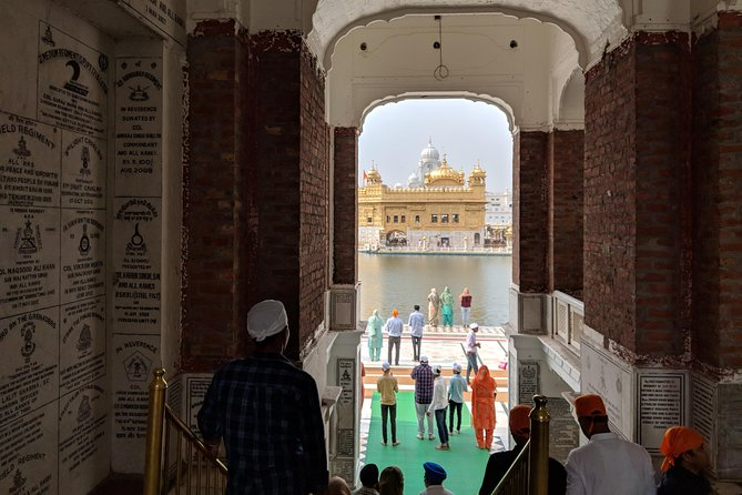 Visit to the most sacred place of Sikhs in the world called the Golden temple. Enjoy a visit to the Kitchen Section of temple. Visit to the India Pakistan Wagah Border to witness the Beating Ceremony where policemen marching to the beats of the drum.