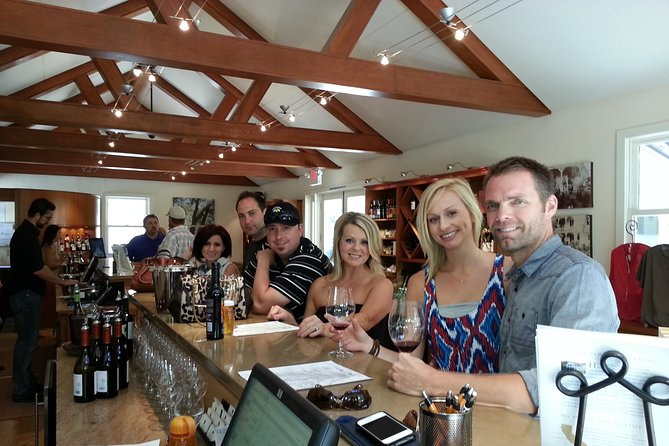 Our Wrangler Adventure Tour is a social tour and our most popular. You can expect to meet other wine enthusiasts and get to know them over the course of the day. You'll share the day with a small group and visit 4 wineries while enjoying a complimentary lunch along the way.