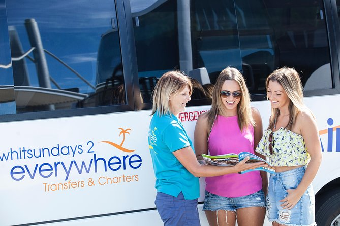 Shared Departure Transfer: Airlie Beach or Shute Harbour Hotels to Proserpine Airport, Airlie Beach, AUSTRALIA