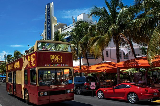 Discover Miami, its beautiful beaches and distinctive neighborhoods on this hop-on hop-off sightseeing tour--the perfect way to get around and see it all at your own pace! Enjoy the beautiful weather and 360-degree views from open-top double-decker buses as you tour Miami's most popular sites such as South Beach, Wynwood, Brickell and Little Havana. For the complete Miami experience, upgrade and add the Biscayne Bay Boat Tour to enjoy Miami Beach and Fisher Island from the water, the Night Tour to see the city after hours or the Everglades Experiences to see the wildlife in their natural habitat.