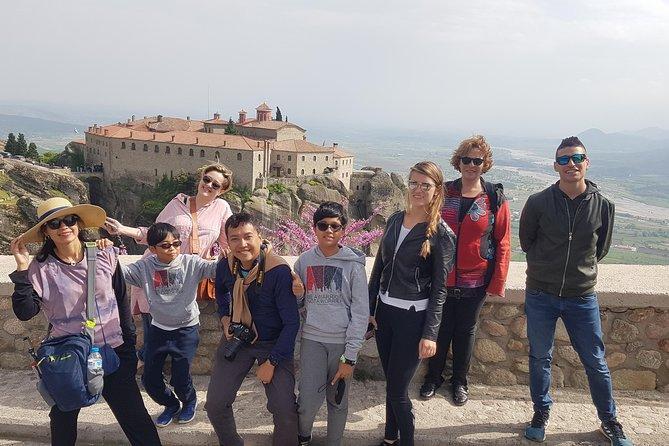 Midday Meteora Monastery tour from Kalabaka's train station, Meteora, Grécia