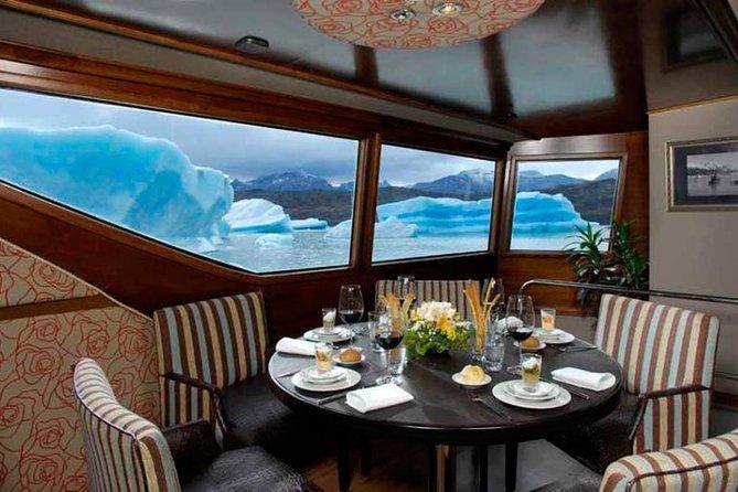 Gourmet Navigation Experience by the Perito Moreno Glacier, El Calafate, ARGENTINA